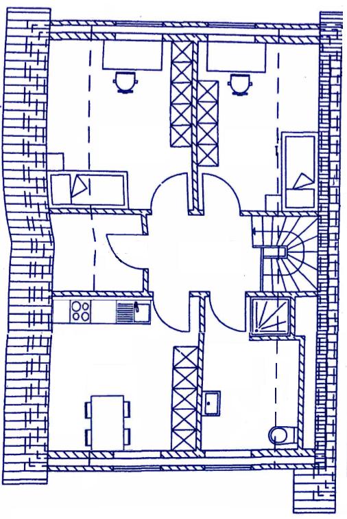Grundriss DG - Haxtumer Ring 1b